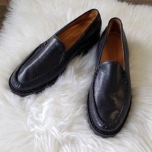 B2G1 Cole Haan Country Black Leather Loafers